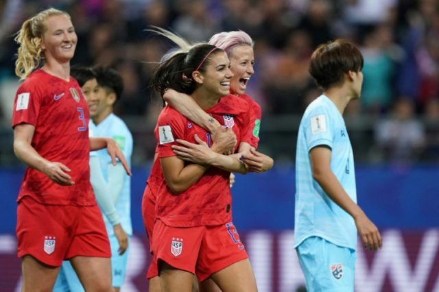 US star Morgan defends 'excessive' celebrations in Thai rout