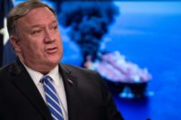 Pompeo Vows U.S. Will Guarantee Passage Through Strait of Hormuz