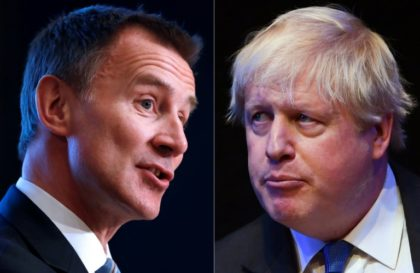 Johnson domestic 'row' rocks UK leadership race