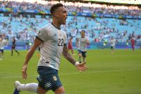 Martinez, Aguero goals send Argentina into Copa America quarters