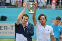 No pain, all gain as Murray crowns return with Queen's doubles title