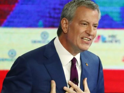The Latest: Bill de Blasio makes no apologies