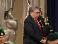 Watch: A.G. Barr Bagpipes His Way Into Attorneys' National Conference