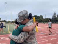 Emotional footage shows Jada McGee, 13, being brought to tears by the surprise that followed her running the anchor leg of her school's 4x100 meter relay race