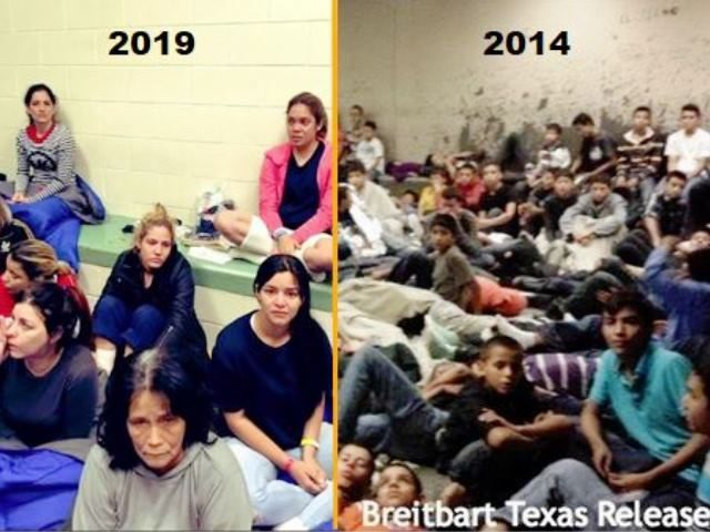 2019 vs 2014 Migrant Detention