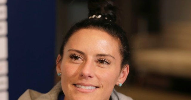 U S  Soccer Player Krieger on Trump: 'I Refuse to Respect a