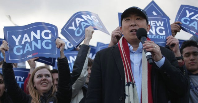 Andrew Yang on Loyal 'Yang Gang' Base: 'I Came from the Internet'