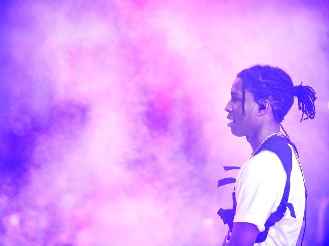 LAS VEGAS, NV - JANUARY 03: Rapper A$AP Rocky performs at Drai's Beach Club - Nightclub at the Cromwell Las Vegas during his first Drai's Live performance on January 3, 2016 in Las Vegas, Nevada. (Photo by Bryan Steffy/Getty Images for Drai's Beachclub-Nightclub)