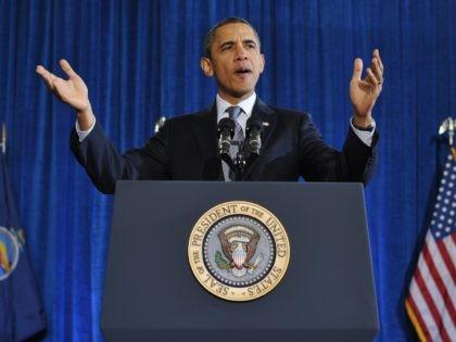 Barack Obama at Osawatomie (Mandel Ngan / AFP / Getty)