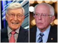 "Home Depot co-founder Bernie Marcus appears on ""Cavuto: Coast to Coast,"" with anchor Neil Cavuto, on the Fox Business Network, in New York, Monday, June 24, 2019. (AP Photo/Richard Drew) MIAMI, FL - JUNE 27: Senator Bernie Sanders in the spin room following the 2020 Democratic Party presidential debates held …"