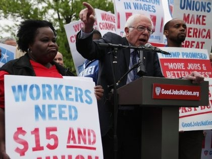 Bernie Sanders Staff Complain of 'Poverty Wages,' Demand $15/Hour