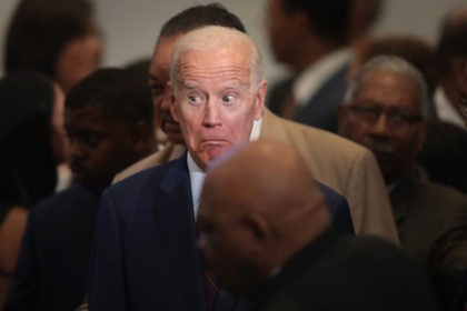 CHICAGO, ILLINOIS - JUNE 28: Democratic presidential candidate, former Vice President Joe Biden attends the Rainbow PUSH Coalition Annual International Convention on June 28, 2019 in Chicago, Illinois. Biden is one of 25 candidates seeking the Democratic nomination for president and the opportunity to face President Donald Trump in the …