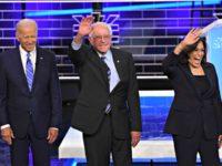 Biden, Sanders, Harris