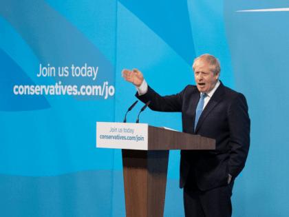 Boris Johnson Blue
