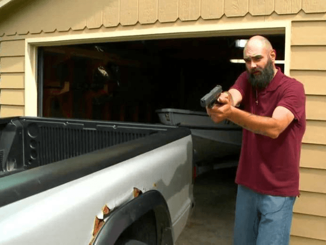 Brad Ratkovich said he went into his garage before leaving for a fishing trip around 5 a.m. Wednesday and spotted a man, later identified as Steven Wayne Six, trying to break into his truck.