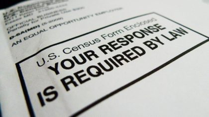 The official US Census form, pictured on March 18, 2010 in Washington, DC, is required to be filled out and returned to the US Government by April 1, 2010. The all-important US tally determines everything from the number of seats a district is entitled in the US Congress, to the …