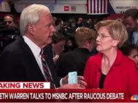Chris Matthews, Elizabeth Warren