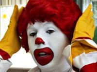 Clown Paul J. RichardsGetty Images