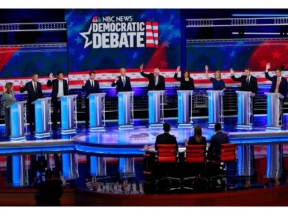 CNN Releases Lineup for Second Democrat Presidential Debate