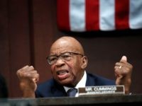 Rep. Elijah Cummings, D-Md., ranking member of the House Committee on Oversight and Government Reform, pleads with Republican colleagues to intervene in the separation of immigrant families at the border, during opening remarks at a joint House Committee on the Judiciary and House Committee on Oversight and Government Reform, hearing …