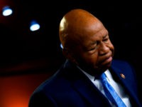 US Representative Elijah Cummings, Democrat of Maryland and Chairman of the House Oversight and Reform Committee, pauses as he delivers a press conference following the former Special Counsel's testimony before the House Select Committee on Intelligence in Washington, DC, on July 24, 2019. (Photo by ANDREW CABALLERO-REYNOLDS / AFP) (Photo …