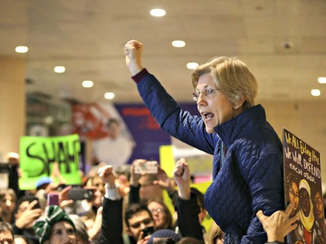 Elizabeth Warren Harangue