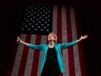 Democratic presidential candidate Sen. Elizabeth Warren, D-Mass., arrives at Chicago's Auditorium Theater at Roosevelt University for a Chicago Town Hall event , Friday, June 28, 2019. (AP Photo/Amr Alfiky)