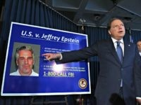 NEW YORK, NY - JULY 08: US Attorney for the Southern District of New York Geoffrey Berman announces charges against Jeffery Epstein on July 8, 2019 in New York City. Epstein will be charged with one count of sex trafficking of minors and one count of conspiracy to engage in …