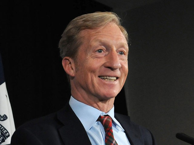 DES MOINES, IA - JANUARY 09: Billionaire Activist Tom Steyer speaks to supporters on January 9, 2019 in Des Moines, Iowa. Steyer announced that he would not run for president in 2020, and would instead concentrate his efforts on the possibility of impeaching President Trump. (Photo by Steve Pope/Getty Images)