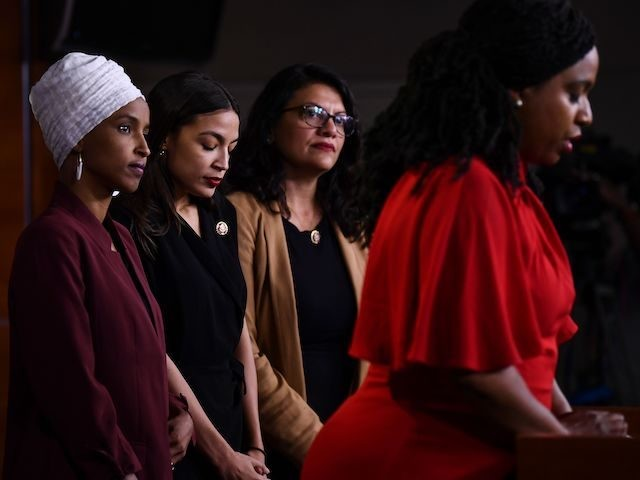 Watch Live: Ocasio-Cortez's 'Squad' Responds to Trump's Challenge to Leave USA