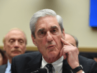 Former Special Counsel Robert Mueller testifies before the House Select Committee on Intelligence hearing on Capitol Hill in Washington, DC, July 24, 2019. (Photo by JIM WATSON / AFP) (Photo credit should read JIM WATSON/AFP/Getty Images)