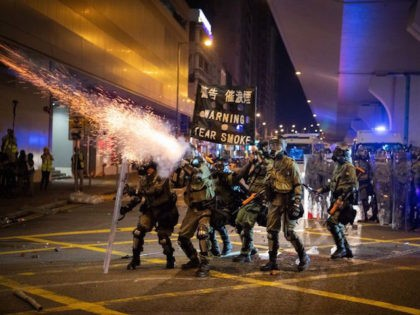 Chinese Media Quotes Hong Kong Police Condemning 'Illegal' Demonstration Before It Happened