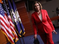 WASHINGTON, DC - JUNE 27: Speaker of the House Nancy Pelosi (D-CA) departs following her weekly press conference at the U.S. Capitol on June 27, 2019 in Washington, DC. Pelosi answered a range of questions focusing primarily on immigration issues and pending legislation before the U.S. Congress. (Photo by Win …