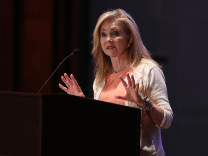 Sen. Marsha Blackburn (R-TN) addresses the Faith and Freedom Coalition's Road to Majority Policy Conference at the U.S. Capitol Visitor's Center Auditorium June 27, 2019 in Washington, DC. Created as a bridge between conservative Tea Party movement and evangelical voters, the Faith and Freedom Coalition was founded by Christian conservative …