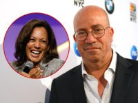 (INSET: Sen. Kamala Harris, D-CA) NEW YORK, NEW YORK - JUNE 27: President of CNN Worldwide Jeff Zucker attends QUEER CITY: A CNN Experience on June 27, 2019 in New York City. 622001 (Photo by Mike Coppola/Getty Images for CNN)