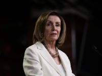 WASHINGTON, DC - JULY 11: Speaker of the House Nancy Pelosi (D-CA) answers questions during a press conference at the U.S. Capitol on July 11, 2019 in Washington, DC. Pelosi answered a range of questions including comments on a recent flap with Rep. Alexandria Ocasio-Cortez and more progressive members of …