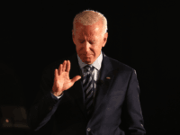 Democratic presidential candidate former U.S. Vice President Joe Biden speaks during the AARP and The Des Moines Register Iowa Presidential Candidate Forum at Drake University on July 15, 2019 in Des Moines, Iowa. Twenty Democratic presidential candidates are participating in the forums that will feature four candidate per forum, to …
