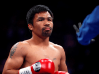 Philippines Senator Manny Pacquiao Skips Senate President Vote, Duterte State of the Nation