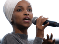 Rep. Ilhan Omar (D-MN) participates in a panel discussion during the Muslim Collective For Equitable Democracy Conference and Presidential Forum at the The National Housing Center July 23, 2019 in Washington, DC. As a member of a group of four freshman Democratic women of color, known informally as 'The Squad,' …