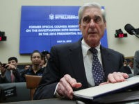 WASHINGTON, DC - JULY 24: Former Special Counsel Robert Mueller waits to testify before the House Intelligence Committee about his report on Russian interference in the 2016 presidential election in the Rayburn House Office Building July 24, 2019 in Washington, DC. Mueller testified earlier in the day before the House …