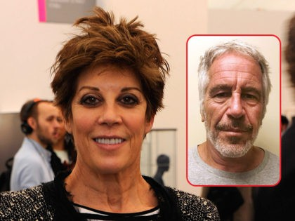 Peggy Siegal and Jeffrey Epstein