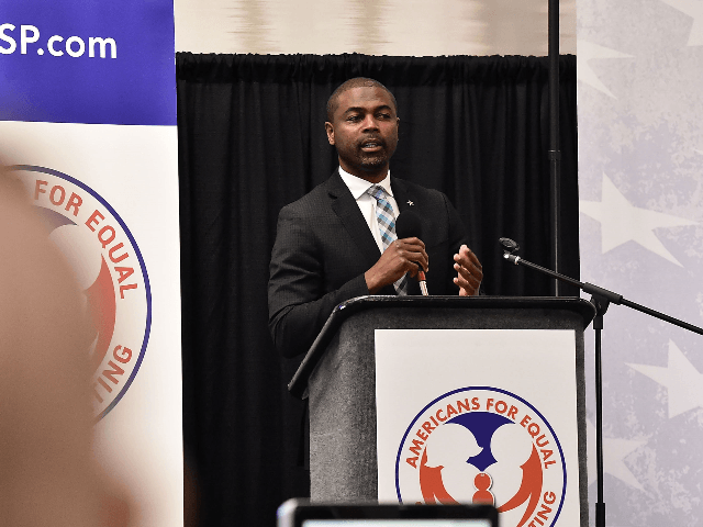 Illinois Rep. La Shawn Ford attends the Americans For Equal Parenting National Conference on May 20, 2018 in Alexandria, Virginia. (Photo by Theo Wargo/Getty Images)
