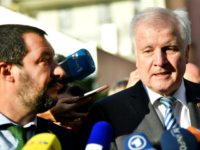 Italian Interior Minister and deputy Prime Minister Matteo Salvini (L) and German Interior Minister Horst Seehofer give a joint press statement following a meeting on July 11, 2018 in Innsbruck, Austria. (Photo by BARBARA GINDL / APA / AFP) / Austria OUT (Photo credit should read BARBARA GINDL/AFP/Getty Images)