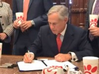 Gov. Greg Abbott Signs Chick-fil-A Bill into Law to 'Protect Religious Liberty'