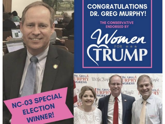 Greg Murphy Wins @WomenforTrump