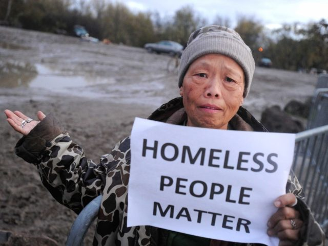 Homeless people matter (Josh Adelson / AFP / Getty)