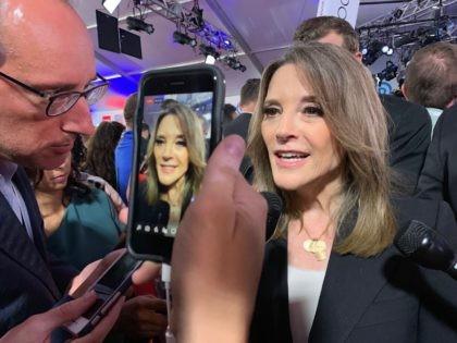 Marianne Williamson (Joel Pollak / Breitbart News)