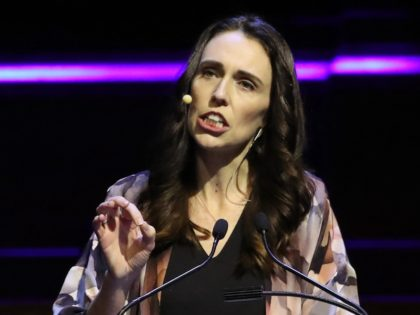 MELBOURNE, AUSTRALIA - JULY 18: New Zealand Prime Minister Jacinda Ardern speaks at the Melbourne Town Hall on July 18, 2019 in Melbourne, Australia. New Zealand's Prime Minister Jacinda Ardern delivered a speech in Melbourne titled 'Why does good government matter?' which was hosted by the City of Melbourne and …
