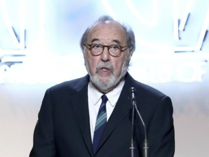James L. Brooks accepts the Norman Lear achievement award at the 28th Annual Producers Guild Awards at the Beverly Hilton on Saturday, Jan. 28, 2017, in Beverly Hills, Calif. (Photo by John Salangsang/Invision for Producers Guild of America/AP Images)