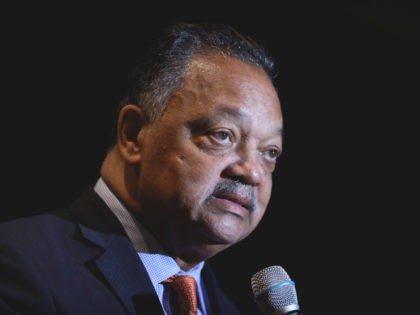 Rev. Jesse Jackson addresses the Rainbow PUSH Coalition Annual International Convention in Chicago, Tuesday, July 2, 2019. (AP Photo/Amr Alfiky)